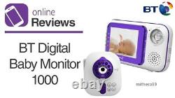 BT 1000 Digital VIDEO SOUND Baby Monitor 28 Inch COLOUR LCD Display Screen ZOOM