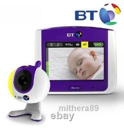 BT 7000 Digital VIDEO SOUND Baby Monitor 3.5 Inch COLOUR LCD Touch-Screen + ZOOM
