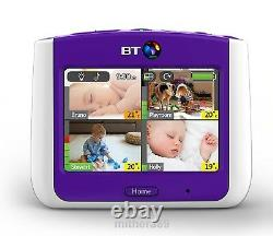 BT 7500 Lightshow PARENT UNIT ONLY Video Baby Monitor 3.5 COLOUR Touch-Screen