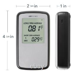 Corentium Home Radon Detector by Airthings Digital LCD Display Portable Safety