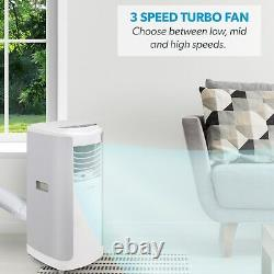 ElectriQ 12000 BTU 3.5 kW Smart App 4-in-1 Air Conditioner with LCD display