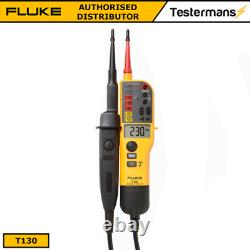 Fluke T130 Voltage & Continuity Tester LCD Display & Switchable