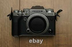 Fujifilm X-T4 (Silver) Digital Camera with 3 batteries, charger and SD card