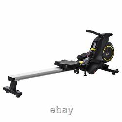 HOMCOM Fitness Adjustable Magnetic Rowing Machine Rower with LCD Digital Monitor