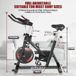 Indoor Excercise Bike Cardio With Digital Display Home Gym Fitness Exercise Cycing