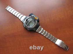 NEW RARE NOS 2000 CASIO SPF10 MB Sea Pathfinder LCD Digital Thermo Scanner watch