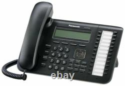 Panasonic 24 Button 3 Line Digital LCD Display Phone KX-DT543 New To Export