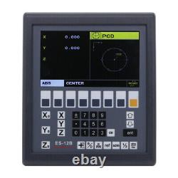 Digital Readout LCD Display Console Easson Es-12b 3 Axis MILL & Lathe Fonction