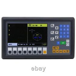 Digital Readout LCD Display Console Easson Es-12c 3 Axis MILL Lathe Fonction